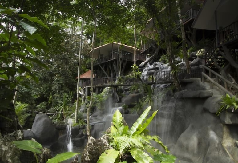 Rock And Treehouse Resort, Фаном, Вид з готелю