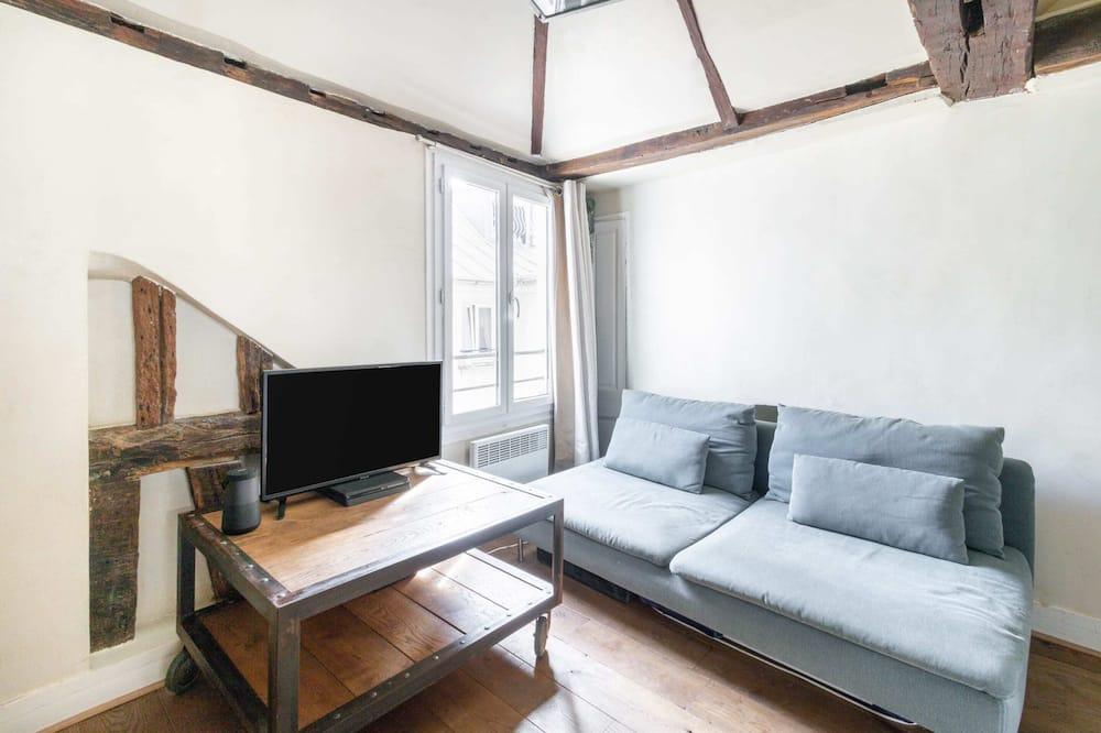 Basic Apart Daire, 2 Çift Kişilik Yatak - Oturma Odası
