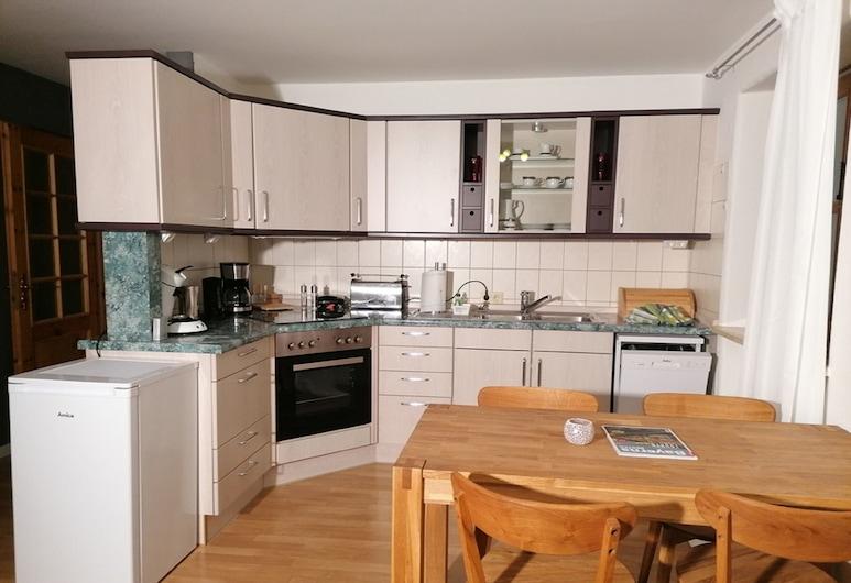 Komfort Feriendomizil JAKOBI, דייפורט, דירה, מטבח פרטי