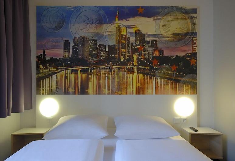 B&B Hotel Frankfurt City-Ost, Frankfurt am Main, Kamar Triple, Kamar Tamu