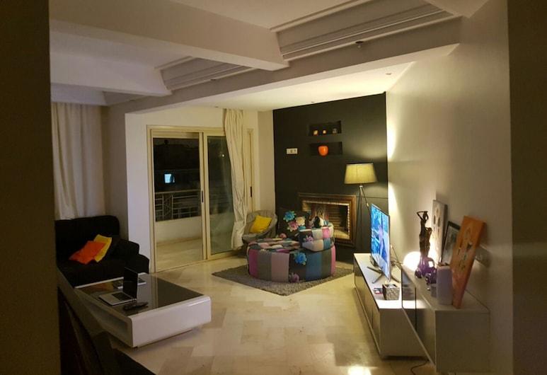 Cosy Apartment Casablanca, Casablanca, Obývací pokoj