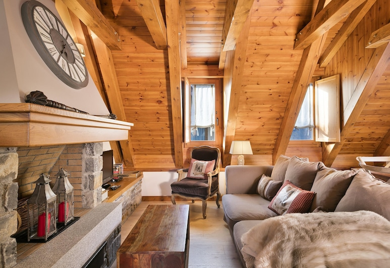 Luderna - Casa Eth Farrow I, Vielha e Mijaran, Casa (3 Bedrooms), Sala de estar