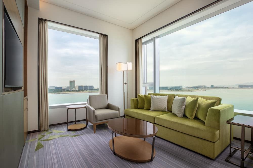 Apartament typu Executive Suite, Łóżko podwójne, dla niepalących, Widok - Salon