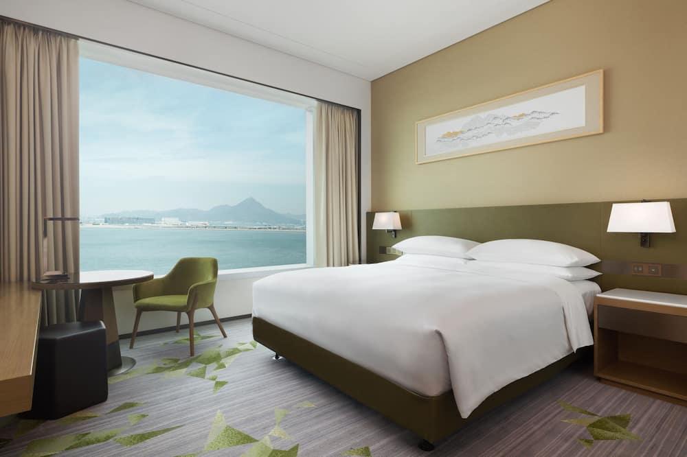 ห้องดีลักซ์, เตียงคิงไซส์ 1 เตียง, ปลอดบุหรี่, วิวทะเล - ห้องพัก
