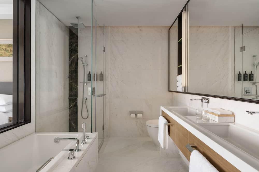 Apartament typu Premier Suite, Łóżko podwójne, dla niepalących, widok na ocean - Łazienka