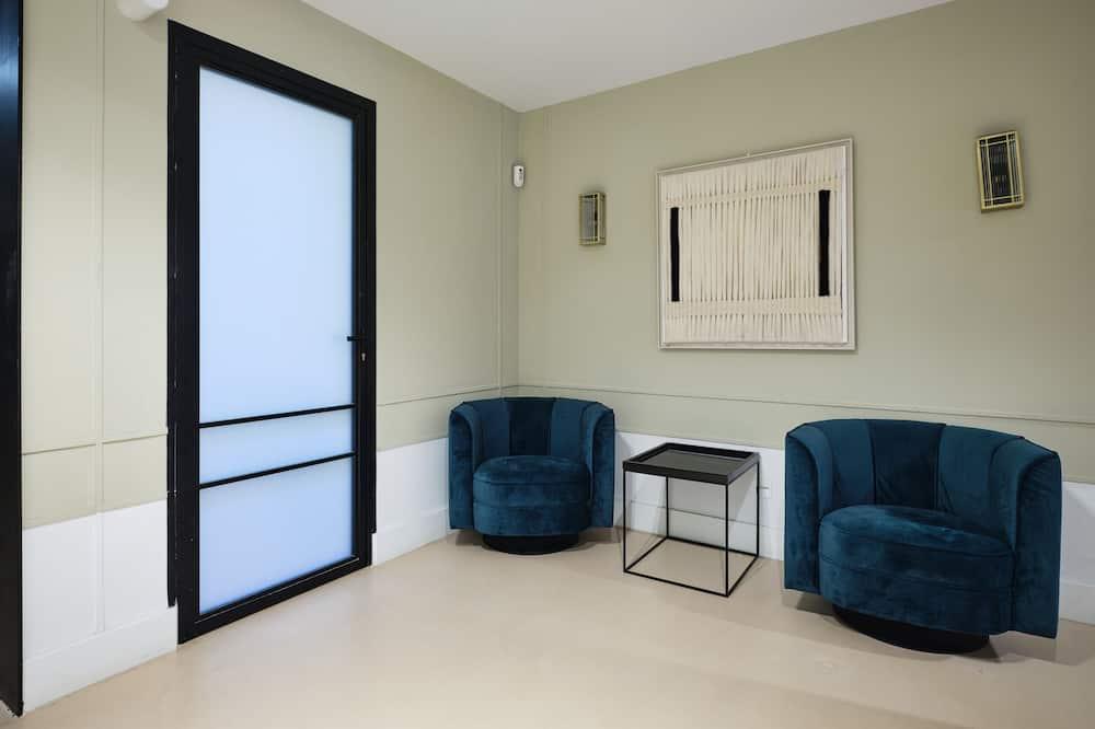 Apartment, 1 Bedroom, Balcony - Living Room
