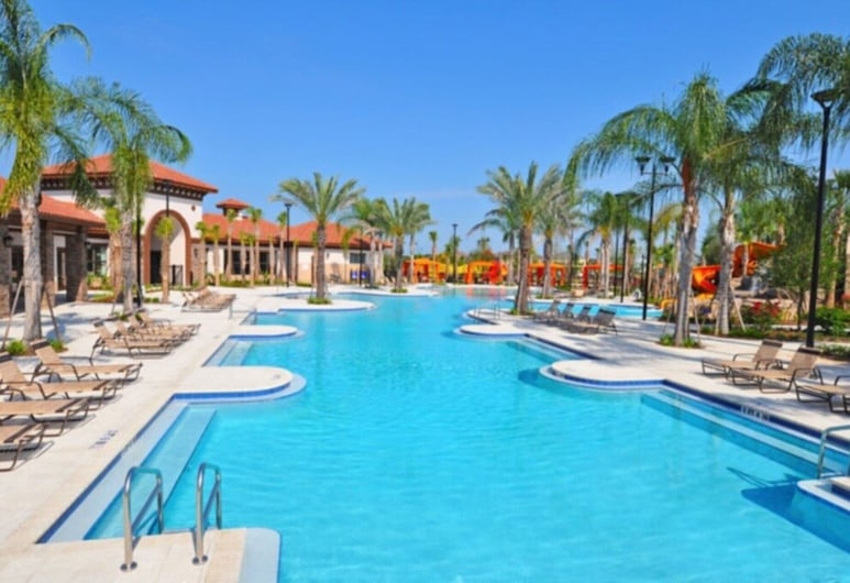 Picture Renting Your Own Luxury Villa on the Exclusive Solterra Resort, Close to Disney, Orlando Villa 3681, Davenport, Pool