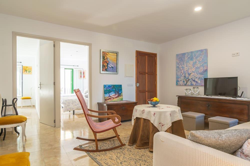 公寓, 城市景觀 (2 Bedrooms) - 客廳