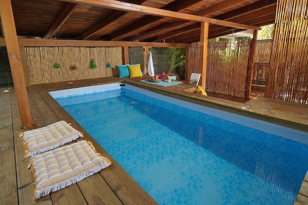 Studio rodzinne, prywatny basen - Prywatny basen
