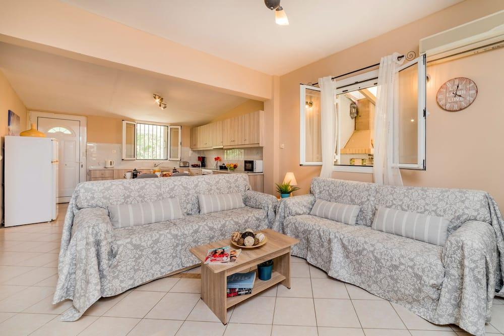 Villa Premium, piscina privada - Sala de estar