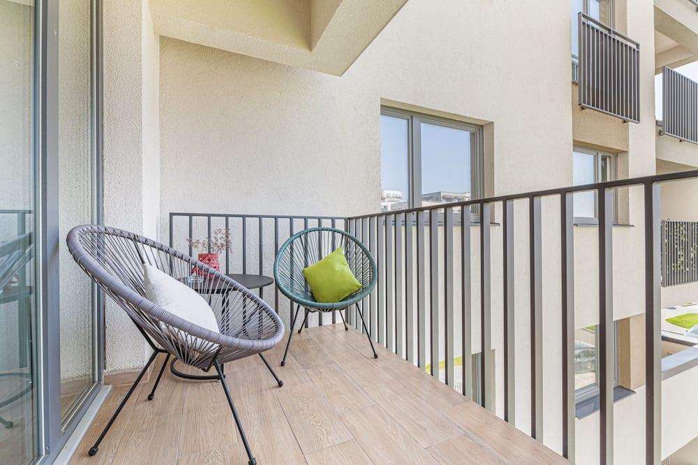 Deluxe-Studiosuite - Balkon