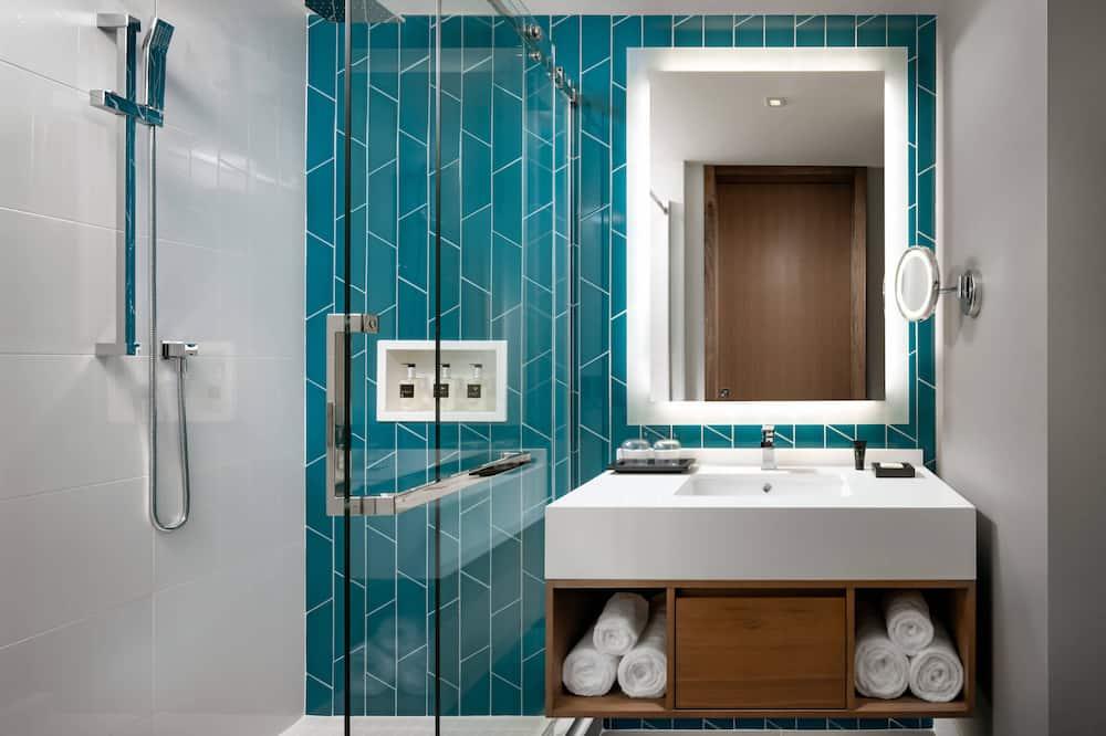 客房, 2 張加大雙人床, 非吸煙房 (Halo) - 浴室