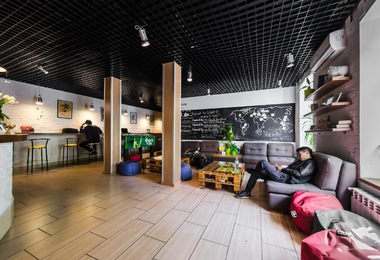Dream Hostel Kyiv, Kyiv, Lobby Sitting Area