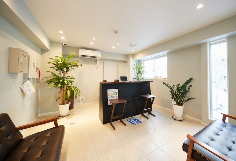 Condominium OKOU Miebashiekimae, Naha, Lobby