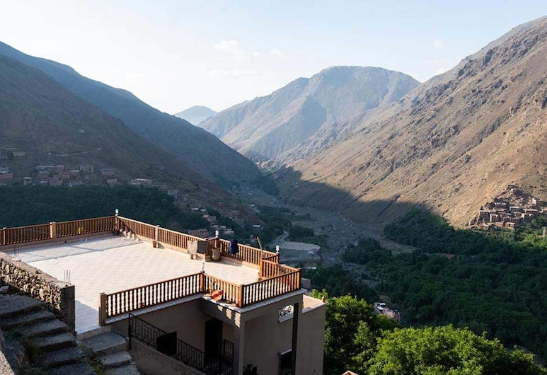 2 Peoples Accommodation in Imlil, Morocco, Asni, Balkons