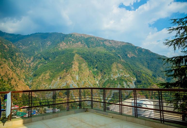 Vatika Heights, Dharamshala, Quarto Duplo Deluxe, Varanda