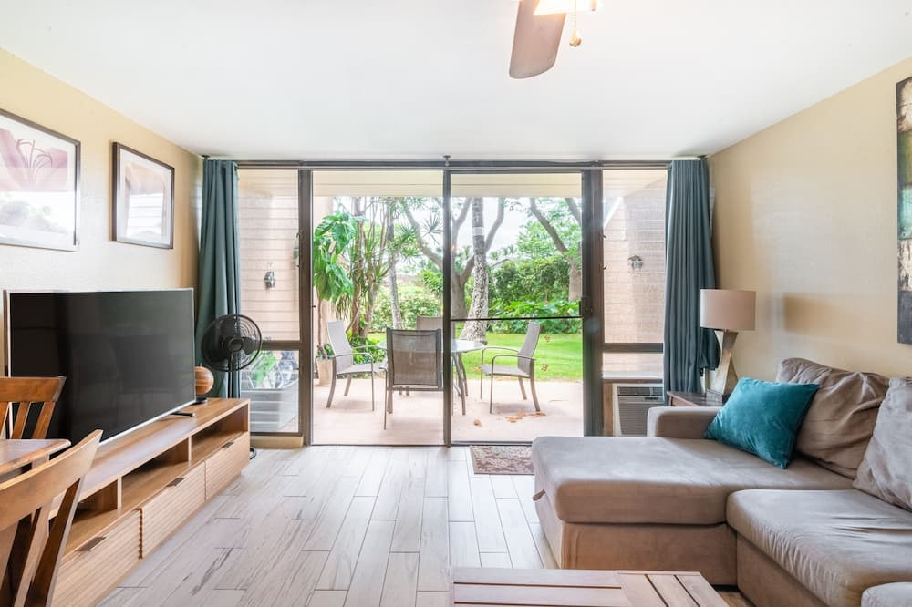 Condominio (Amazing Beach Condo Maui Vista) - Sala de estar