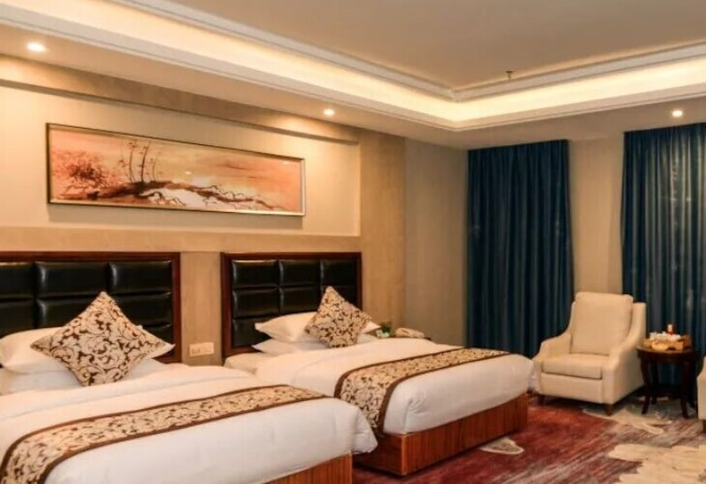 Jinjing Hotel, كوانزو, غرفة نزلاء