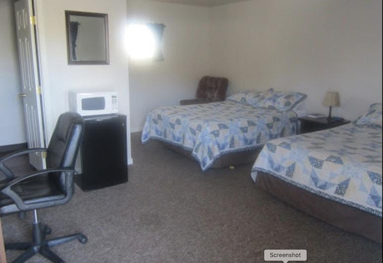 Montana Inn Near Little Bighorn-Colstrip, פורסית', חדר סטנדרט זוגי, 2 מיטות קווין, חדר אורחים