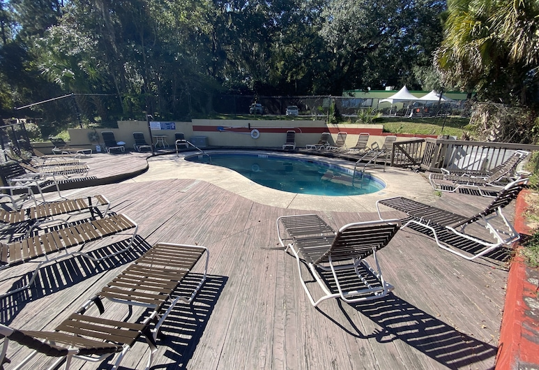 Americas Best Value Inn Gainesville, Gainesville, Vonkajší bazén