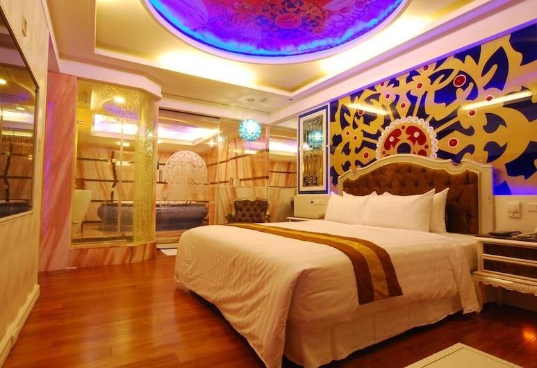 Mucha Motel, Kaohsiung, Dvojlôžková izba typu Economy, Hosťovská izba