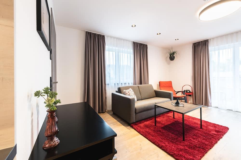 Comfort appartement, 1 slaapkamer, Toegankelijk voor mindervaliden, niet-roken - Woonruimte
