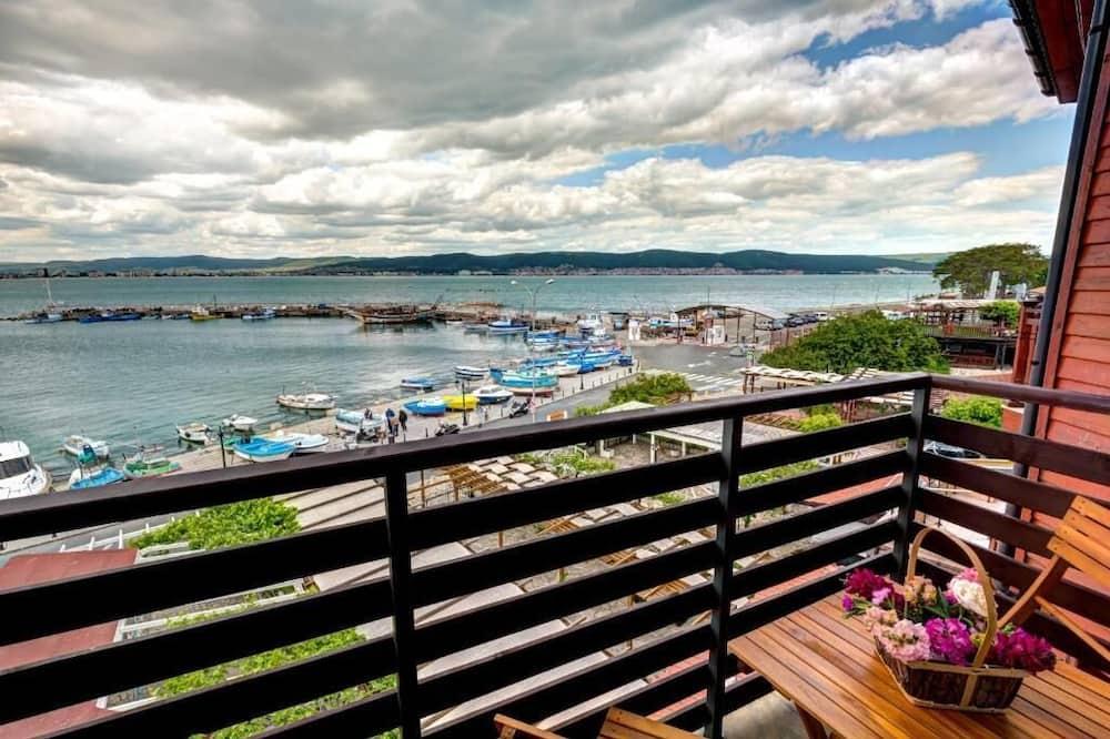 Klasikinio tipo dvivietis kambarys, balkonas, vaizdas į jūrą - Balkonas