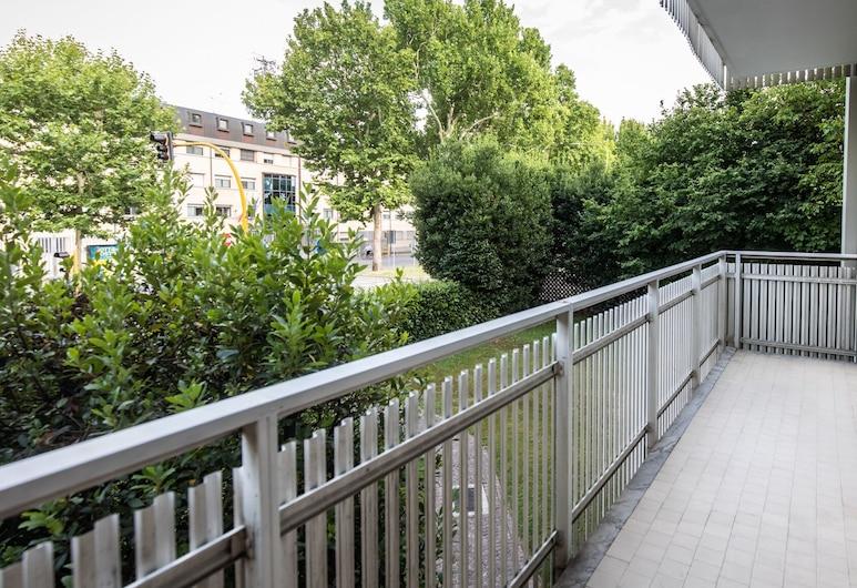 Italianway  - Bersaglio 25, Udine, apartman, 2 hálószobával, Terasz/udvar