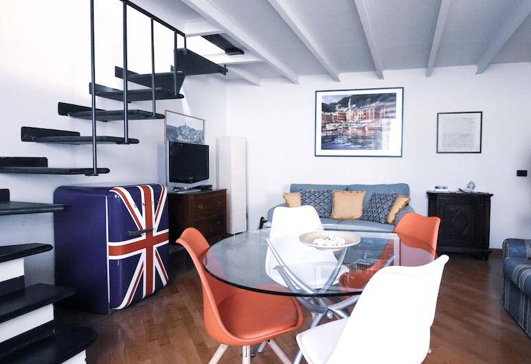Italianway - Marsala 11, Rapallo, Apartment, Multiple Beds, Non Smoking, Private Bathroom, Living Area