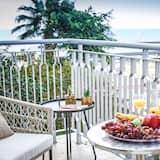 Apartmán, 2 ložnice, přístup k bazénu - Balkón