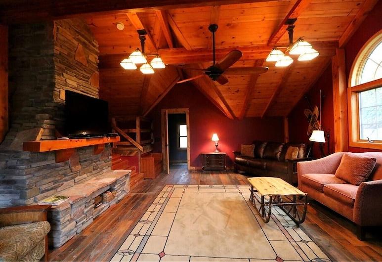Smokey Valley Lodge 2 Bedroom Home, Great Valley, Huis, 3 slaapkamers, Woonkamer