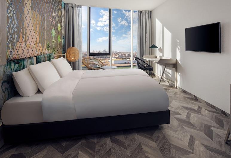 Inntel Hotels Den Haag Marina Beach, Hāga, Pilsētklases divvietīgs numurs, Viesu numurs