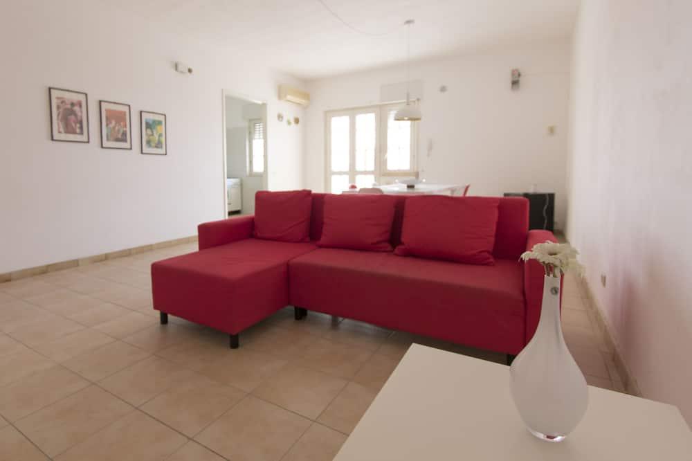 Apartmán, 3 spálne, terasa, výhľad na more - Obývačka