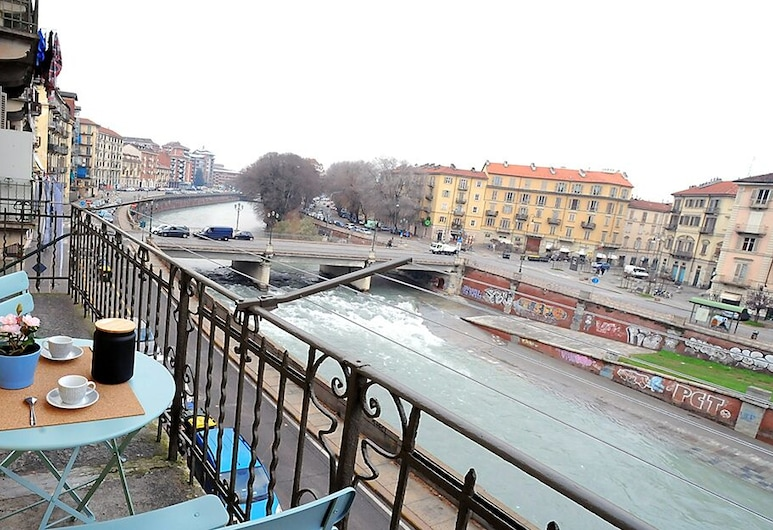 Casa Dora by Wonderful Italy, Τορίνο, Διαμέρισμα, 2 Υπνοδωμάτια, Μπαλκόνι, Θέα στο Ποτάμι, Μπαλκόνι
