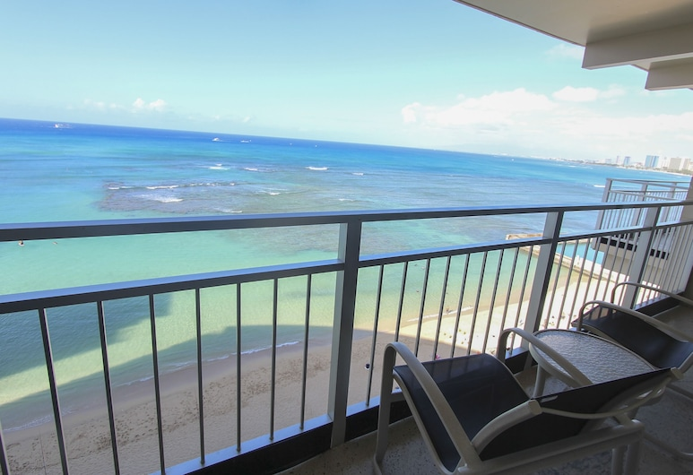 Kaimana Beach Hotel, Гонолулу, Номер, на узбережжі океану, З видом на пляж/океан