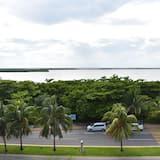 Utsikt mot innsjø