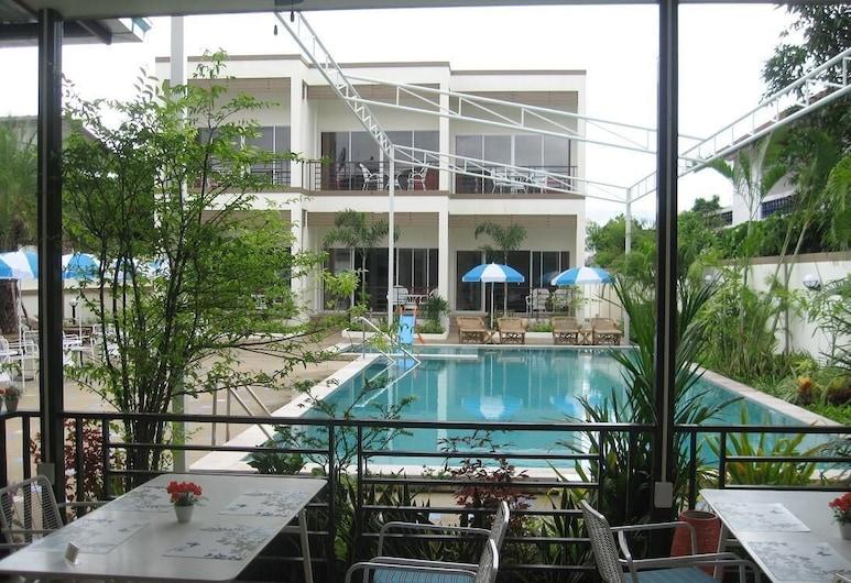Tulip Boutique Hotel, Buriram, Bazén