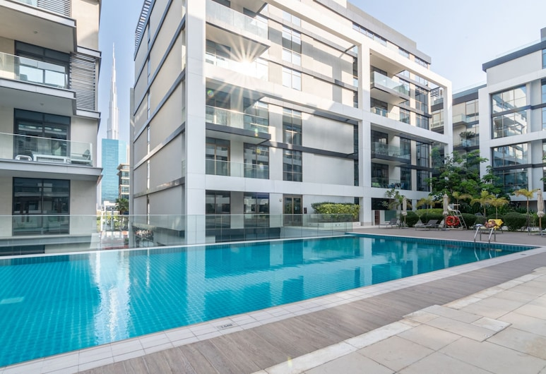 Guestready - Exquisite Apt in Citywalk, Steps Away to the Pool!, Dubai