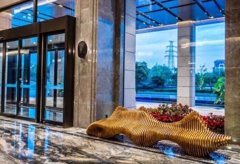 Anqie Jixi Luxury Hotel, Hudžou, Vestibila uzgaidāmā zona