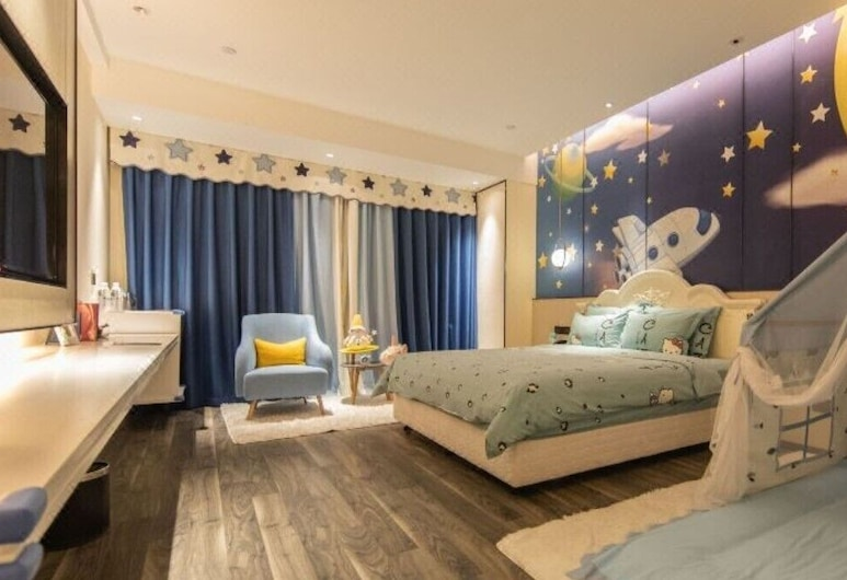 Kaiyuan Yiju Hotel, Changchun, Vendégszoba