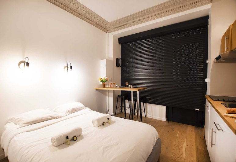 Guestready - Lovely Studio for 2 / Eiffel Tower - Prime Location!, Parigi, Monolocale Basic, 1 letto queen, Camera