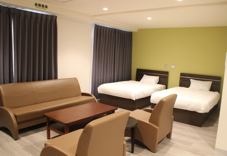 Hotel 2020, ناها, غرفة مزدوجة عائلية - لغير المدخنين, الغرفة