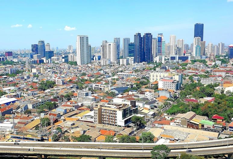 Spacious room at 23th city view , Cakarta, Stüdyo, Oda manzarası