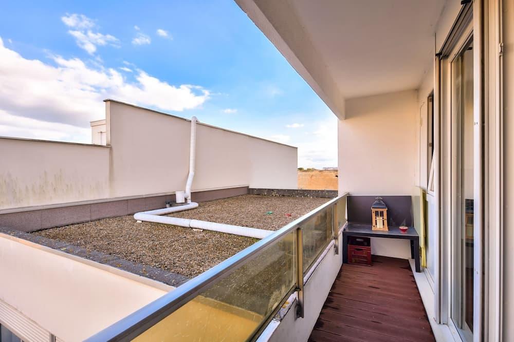 Lägenhet Basic - 1 dubbelsäng med bäddsoffa - Balkong