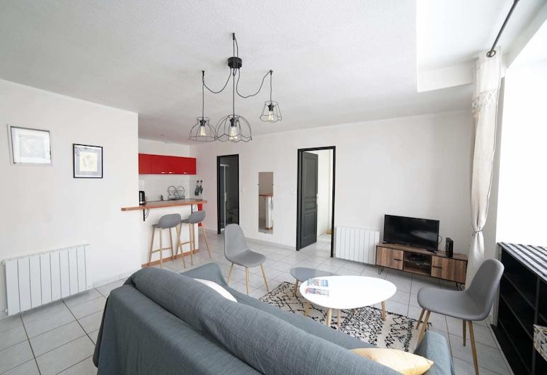 Large Apartment Near the Train Station - Bordeaux, Bordeaux, Living Room