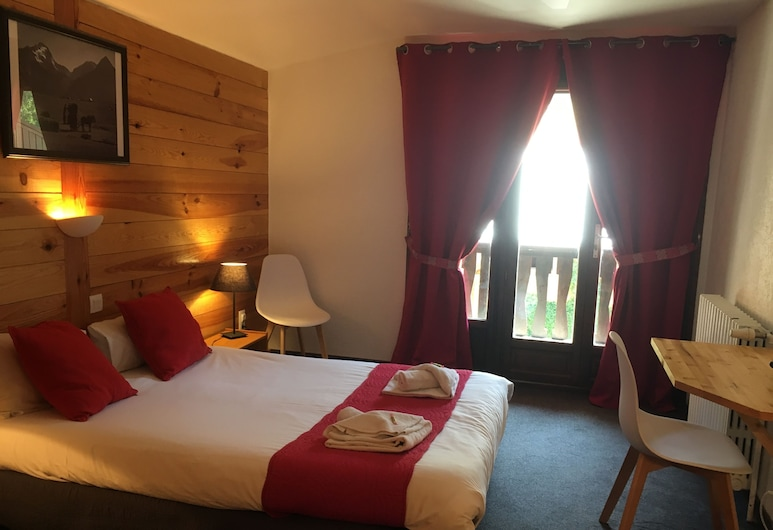 Hotel de la Valentin, Les Deux Alpes, Herbergi fyrir tvo - svalir, Herbergi