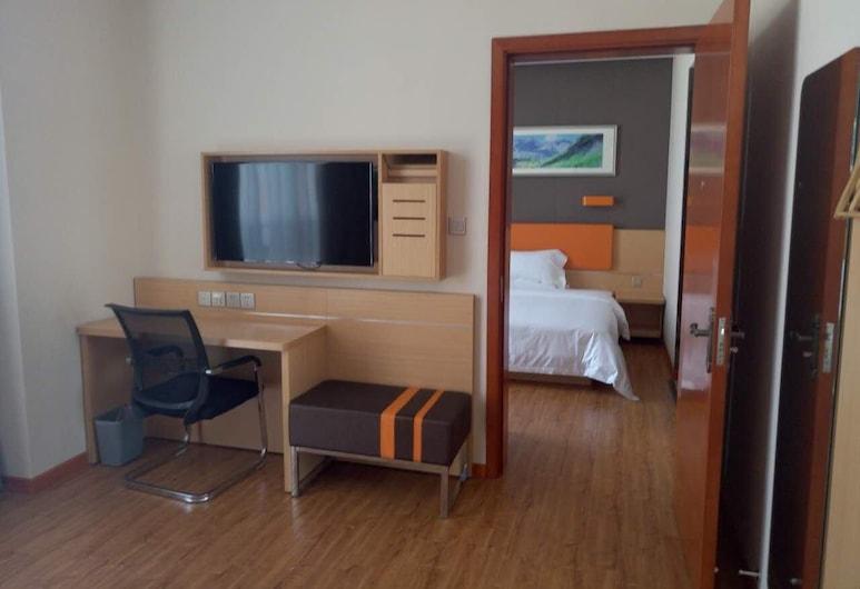 7 Days Premium· Nanchong Railway Station, Nanchong, Vista a partir do Hotel