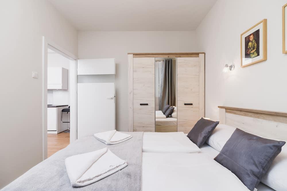Departamento, 1 habitación, cocina - Habitación