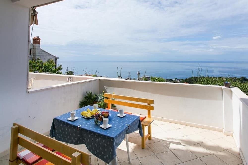 Apartment (One Bedroom Apartment 1) - Balcony