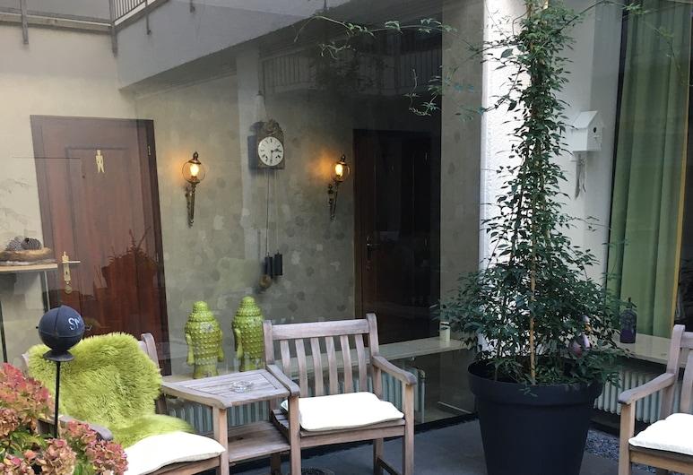 Hotel Kaspar, Siegburg, Terraço/Pátio Interior